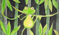 dwie żaby Urszula Szymkowiak