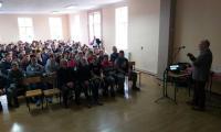 Prelekcja w Zespole Szkół Centrum Kształcenia Rolniczego w Kowalu