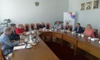 Uczestnicy posiedzenia Zespołu ds. osób niepełnosprawnych przy K-P WRDS, fot. Jarosław Łączny
