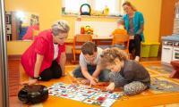 W Ośrodku Braille'a działa też między innymi oddział przedszkolny oraz prowadzona jest terapia Wczesnego Wspomagania Rozwoju Dziecka, fot. Filip Kowalkowski