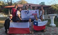 Powitanie grupy pielgrzymów z diecezji toruńskiej w Panamie, fot. materiał nadesłany