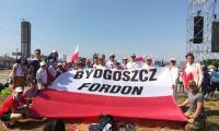 Grupa pielgrzymów z diecezji bydgoskiej przed spotkaniem z papieżem, fot. materiał nadesłany