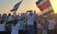 Uroczyste zakończenie Światowych Dni Młodzieży w Panamie, fot. grupa bydgoska