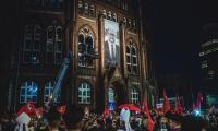 Kondukt żałobny do bazyliki mariackiej, fot. Piotr Połoczański
