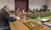 Konferencja prasowa w Urzędzie Marszałkowskim dotycząca IX Marszałkowskiego Balu Dobroczynnego, fot. Szymon Zdziebło/Tarantoga.pl