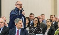 Spotkanie konsultacyjne w Toruniu i poprzedzająca je konferencja prasowa marszałka województwa, fot. Szymon Zdziebło/tarantoga.pl dla UMWKP