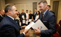 Uroczystość wręczenia nagród sportowcom, fot. Mikołaj Kuras