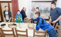 Wizyta w domach dziecka w Więcborku, fot. Filip Kowalkowski