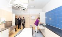 Wizyta w szpitalu w Więcborku, fot. Filip Kowalkowski