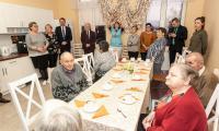 Wizyta w Domu Pomocy Społecznej w Kamieniu Krajeńskim, fot. Filip Kowalkowski