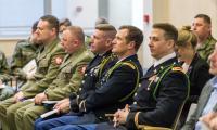 """Seminarium """"20 lat funkcjonowania Sił Zbrojnych Polski w NATO"""", fot. Szymon Zdziebło/tarantoga.pl"""