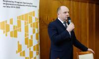 Uroczystość wręczenia umów w ramach Regionalnego Programu Operacyjnego województwa Kujawsko-Pomorskiego w Urzędzie Marszałkowskim, fot. Mikołaj Kuras