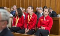 Wizyta sportowców z naszego regionu, medalistów Światowych Letnich Igrzysk Olimpiad Specjalnych w Abu Dhabi, fot. Szymon Zdziebło/www.tarantoga.pl