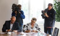 Podpisanie umów w ramach KSOW, fot. Mikołaj Kuras