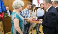 Uroczysta sesja sejmiku województwa kujawsko-pomorskiego, fot. Andrzej Goiński