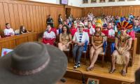 Wizyta polonijnych zespołów ludowych z Brazylii w Toruniu, fot. Szymon Zdziebło/tarantoga.pl