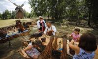 Festyn folklorystyczny w Kłóbce, fot. Mikołaj Kuras
