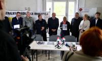 Ceremonia przekazania obiektu wykonawcy robót remontowo-budowlanych, fot. Andrzej Goiński/UMWKP