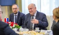 Spotkanie z delegacją Żupanii Medzimurskiej, fot. Szymon Zdziebło/tarantoga.pl dla UMWKP