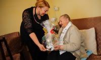 Przewodnicząca sejmiku województwa Elżbieta Piniewska odwiedzała Pelagię Szuflade, fot. Mikołaj Kuras