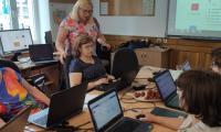 Nauczyciele konsultanci  KPCEN w Bydgoszczy na szkoleniu  z zakresu MS Teams - grupa 1