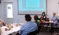 Uczestnicy szkolenia dla trenerów programu korekcyjno-edukacyjnego