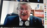 Zdalne posiedzenie Prezydium K-P WDS, fot. Beata Wiśniewska