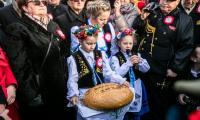 Przyjazd historycznego pociągu z Gdańska do Pucka, fot. Karol Stańczak/UMWP