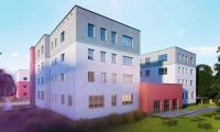 Wizualizacja powstającego budynku