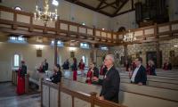Chór wystąpił w Kościele Matki Boskiej Częstochowskiej w Chełmnie, fot. Mikołaj Kuras dla UMWKP
