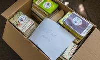 W ramach akcji przekazaliśmy już kilkaset książek, fot. Mikołaj Kuras dla UMWKP