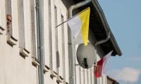Chełmno w barwach papieskich, fot. Andrzej Goiński/UMWKP