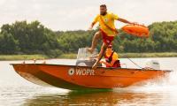 Baza WOPR w Borównie, fot. Filip Kowalkowski dla UMWKP