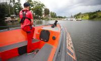 Patrol służb ratowniczych WOPR na Zalewie Włocławskim, fot. Mikołaj Kuras dla UMWKP