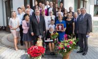Setne urodziny Genowefy Lewandowskiej z Lubrańca, fot. Mikołaj Kuras dla UMWKP