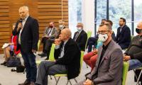 Prof. Tomasz Grodzki na spotkaniu ze środowiskami rolniczymi w Bydgoszczy, fot. Filip Kowalkowski dla UMWKP