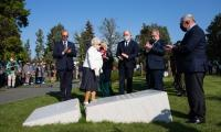 Uroczystość  odsłonięcia płyty pamięci nauczycieli zamordowanych w 1939 roku, fot. Mikołaj Kuras dla UMWKP