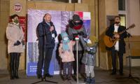 Włączenie iluminacji świątecznych, fot. Mikołaj Kuras dla UMWKP
