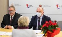 Podpisanie umów o wsparcie dla strefy gastro, fot. Mikołaj Kuras dla UMWKP