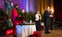 Samorządowa Wigilia w Dworze Artusa, fot. Mikołaj Kuras dla UMWKP