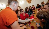 Wizyta młodzieży z Angers w WK-P; fot. Mikołaj Kuraś