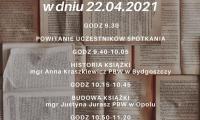 Plakat informujący o akcji, wyk. Małgorzata Ziętara