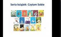Prezentacja różnych książek dla dzieci
