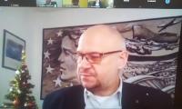 Pan Roman Rogalski - Wiceprzewodniczący  K-P WRDS - zdalne posiedzenie Prezydium