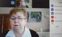 Halina Peplińska - posiedzenie Zespołu ds ochrony zdrowia przy K-P WRDS, fot. Beata Wiśniewska