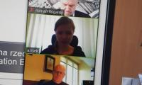 Od góry p. R. Rogalski, p. A. Lisek-Charkiewicz, p. H. Matuszewski, p. L. Walczak podczas Prezydium K-P WRDS, fot. Beata Wiśniewska