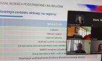 Od góry dr K. Matela, A. Głuszek, A. Męczyński podczas posiedzenia plenarnego K-P WRDS, fot. Beata Wiśniewska