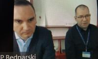 Od prawej p. P. Bednarski, p. T. Kamiński podczas posiedzenia Zespołów działających przy K-P WRDS, fot. Beata Wiśniewska