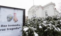 Zwiedzanie Teatru im Wilama Horzycy w Toruniu, fot. Mikołaj Kuras dla UMWKP