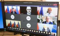 Posiedzenie KWRiST online, 27 stycznia 2021, fot. Mikołaj Kuras dla UMWKP